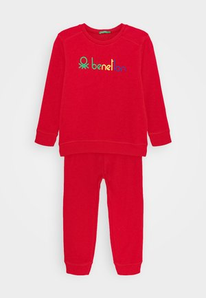 BASIC BOY SET - Sweatshirt - red