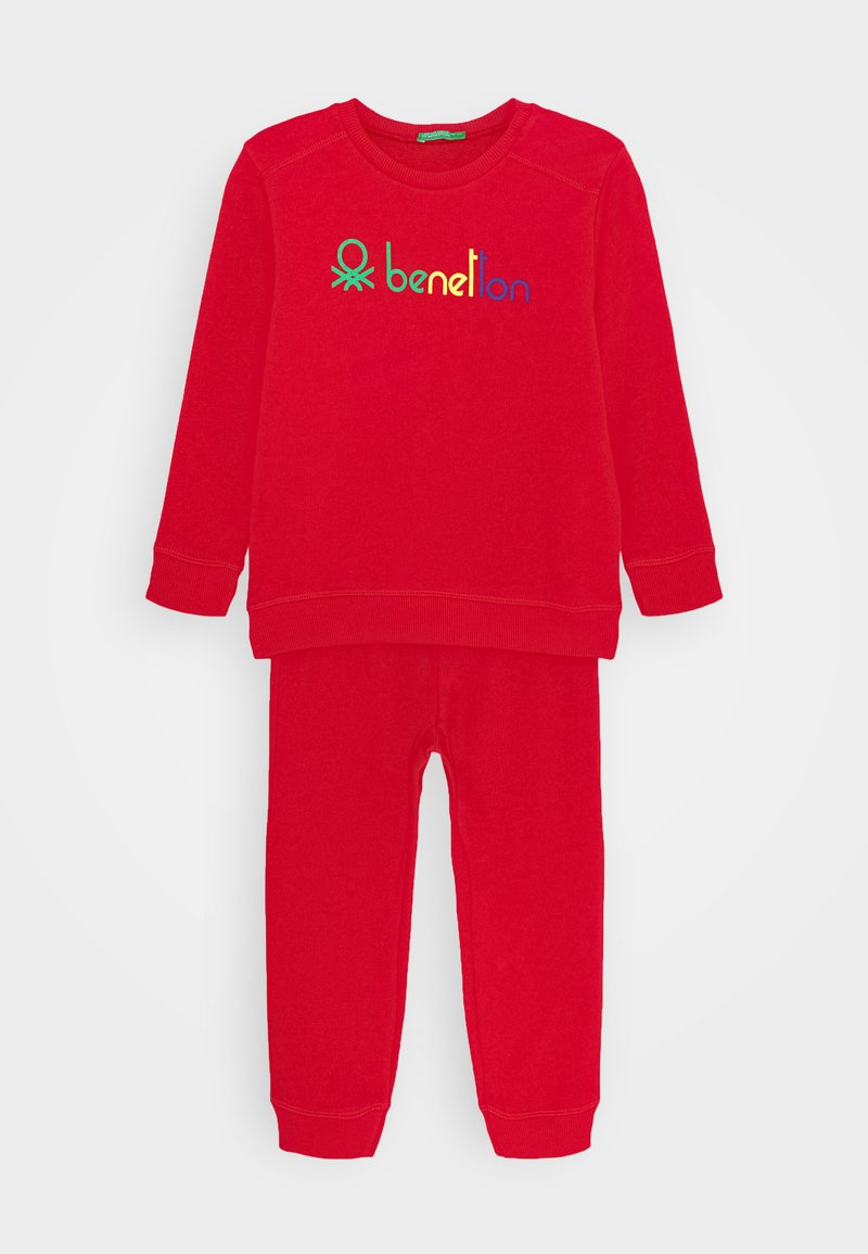 Benetton - BASIC BOY SET - Sweater - red