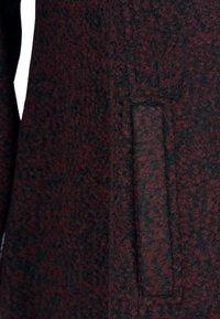 Zizzi - MIT WOLLE - Short coat - bordeaux - 3