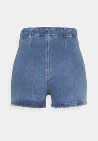 NA-KD - BASIC - Denim shorts - blue - 1