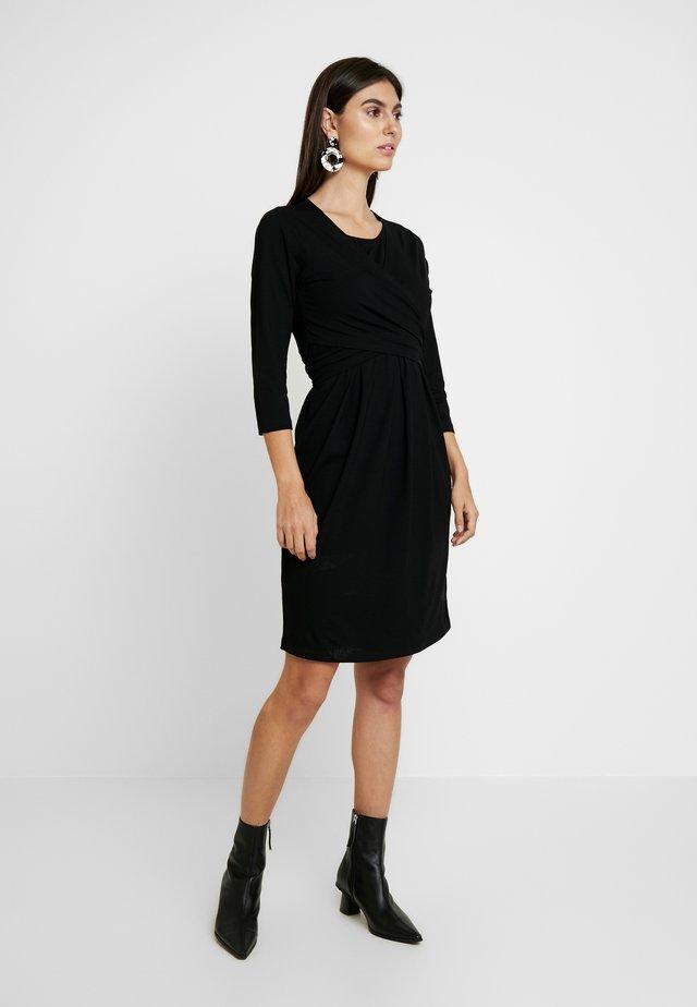 NOPISSA DRESS - Trikoomekko - black