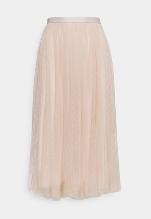 KISSES MIDAXI SKIRT - A-line skirt - pearl rose