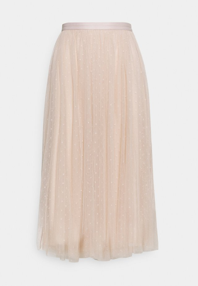 KISSES MIDAXI SKIRT - Jupe trapèze - pearl rose