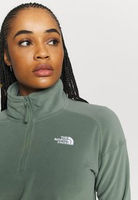 The North Face - GLACIER CROPPED ZIP - Fleece jumper - agave green - 3