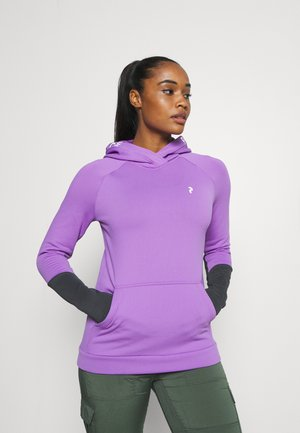 RIDER HOOD - Hoodie - action lilac