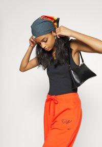 Nike Sportswear - CAMI TANK - Topper - black/white - 5