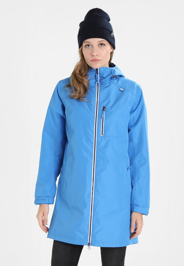 LONG BELFAST JACKET - Outdoor jacket - blue water