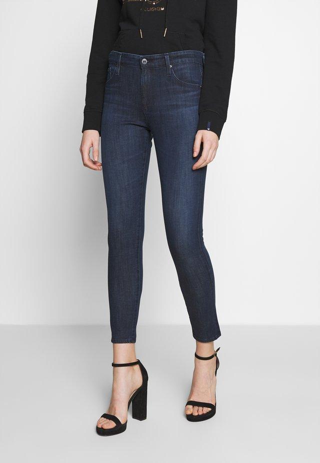 FARRAH - Skinny džíny - dark blue