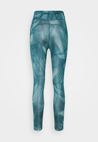 Nike Performance - RUN 7/8 - Leggings - dark teal green/silver - 6