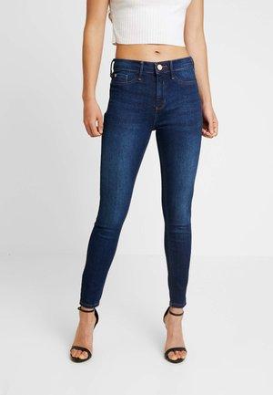 MOLLY - Skinny džíny - dark blue