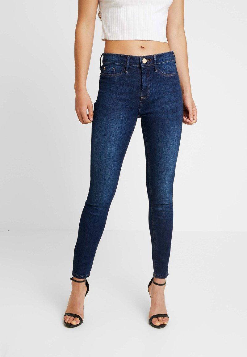 River Island - MOLLY - Jeans Skinny Fit - dark blue