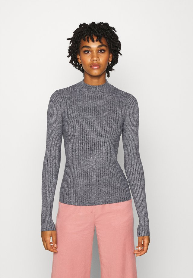Pullover - mid grey melange