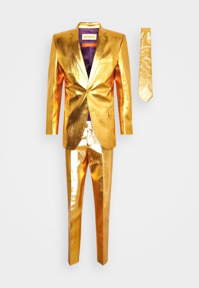 GROOVY SET - Kostuum - gold