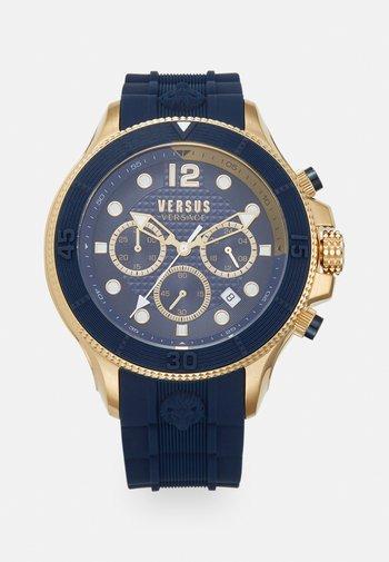VOLTA - Chronograph watch - blue/gold-coloured