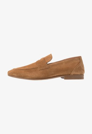 HUNTER LOAFER - Smart slip-ons - tan