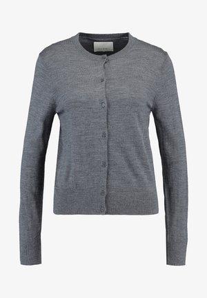 KLEO CARDIGAN - Cardigan - dark grey melange