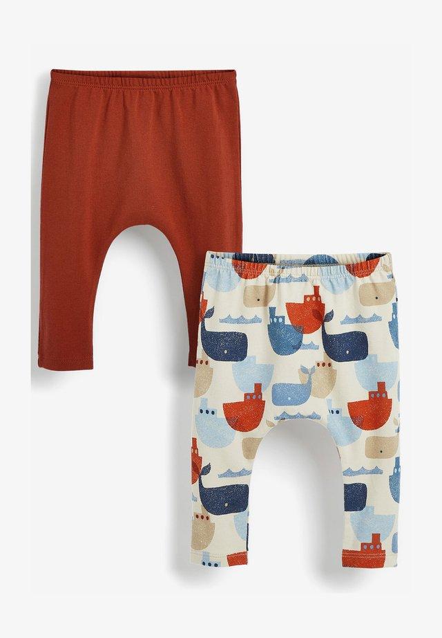 2 PACK  - Teplákové kalhoty - blue