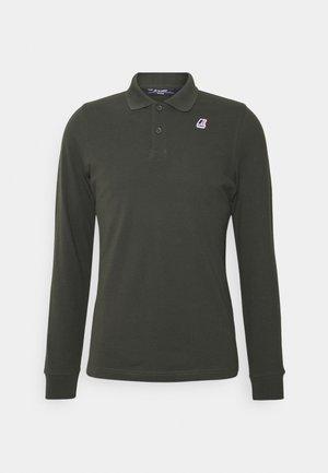 ROCHEL CONTRAST UNISEX - Polo shirt - dark green