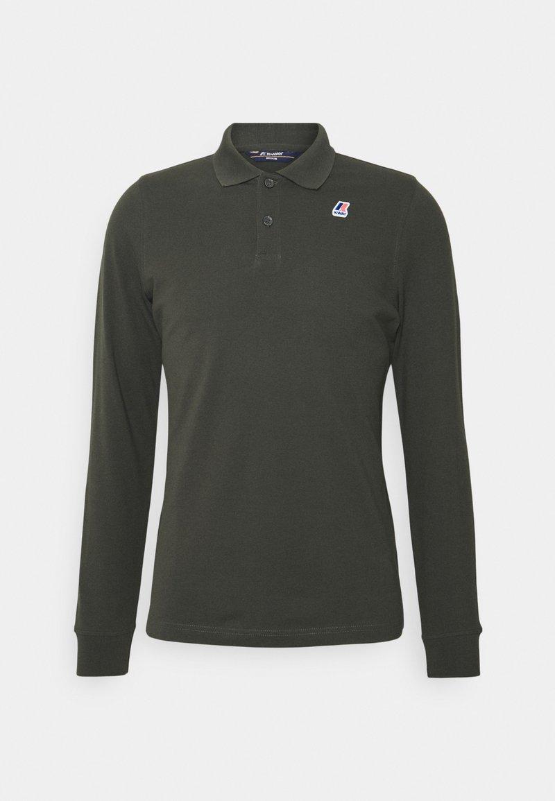 K-Way - ROCHEL CONTRAST UNISEX - Polo shirt - dark green