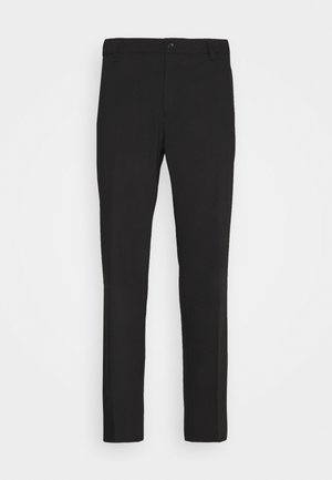 EIK PANTS - Trousers - black
