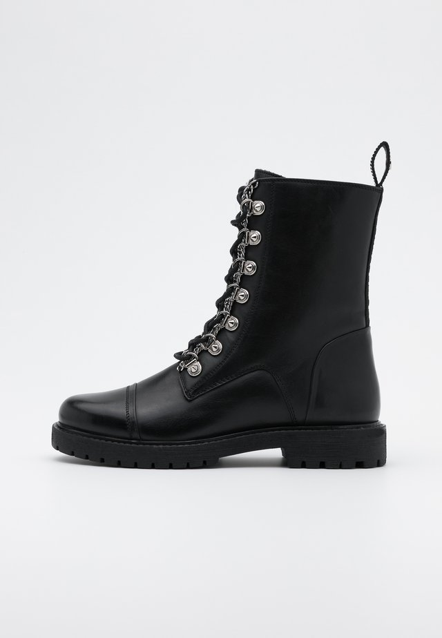 NEW JOLINE - Veterboots - black