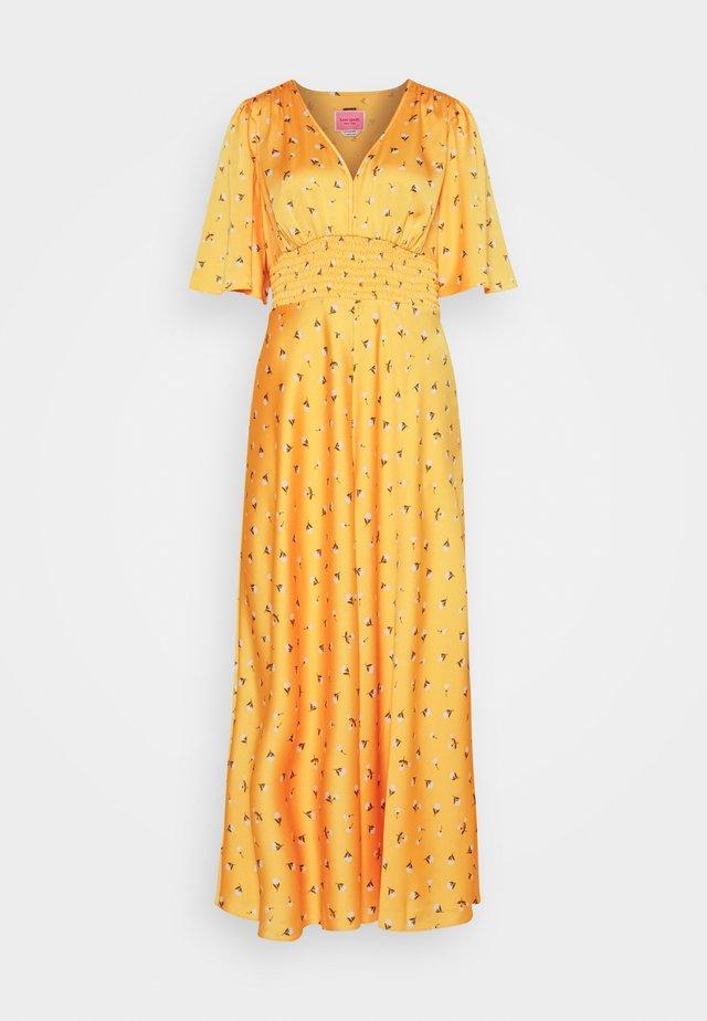 GARDEN DITSY DRESS - Maxikjole - marigold
