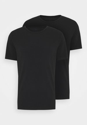 SOLID THOMAS TEE 2 PACK - Undertröja - black beauty