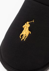 Polo Ralph Lauren - EXCLUSIVE ANTERO - Chaussons - black/gold - 5