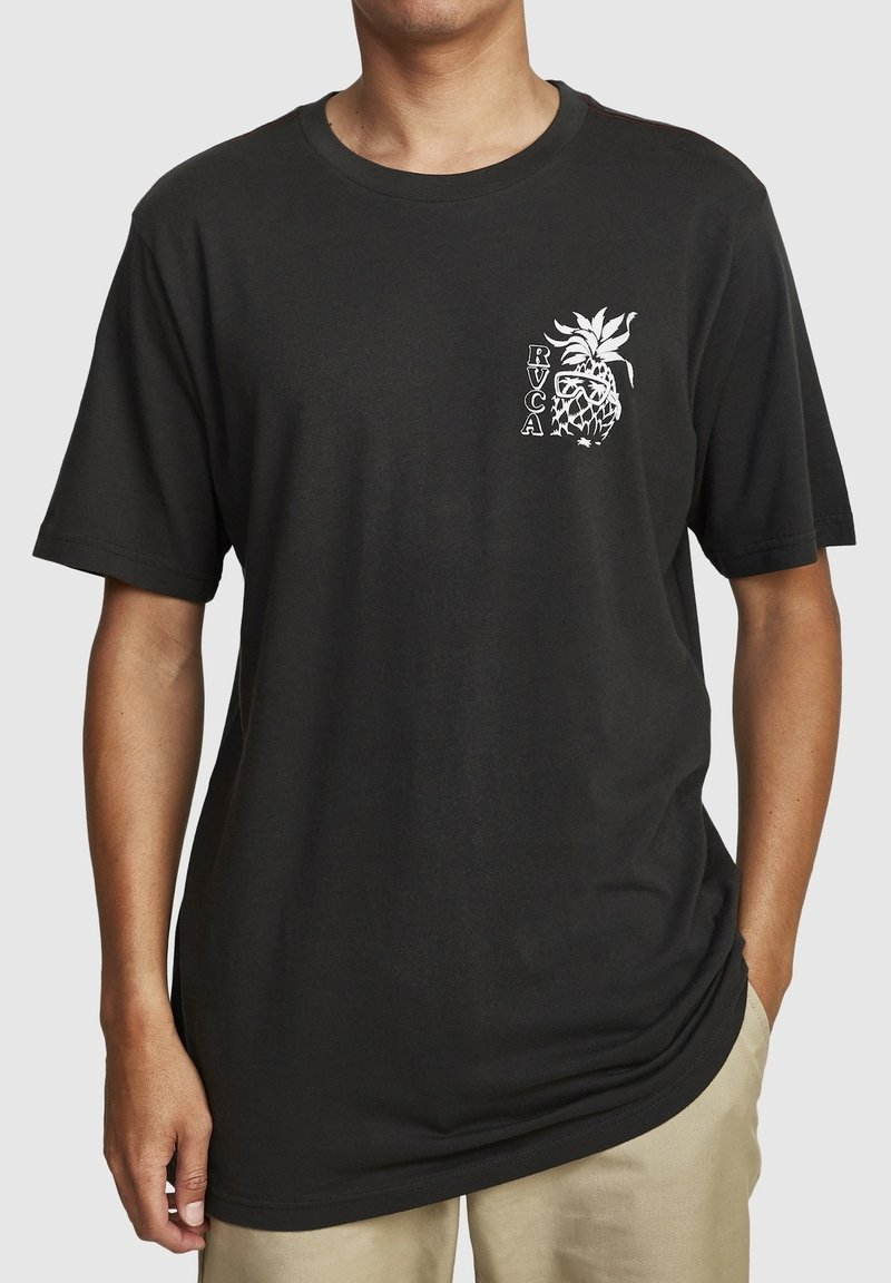 RVCA - ALOHA SHOP  - Print T-shirt - pirate black
