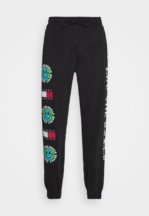 LUV THE WORLD UNISEX - Pantaloni sportivi - black