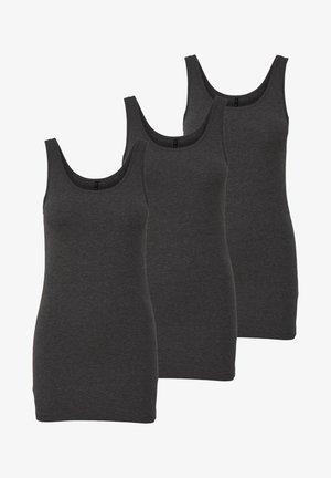 3 PACK - Top - grau (dark grey)