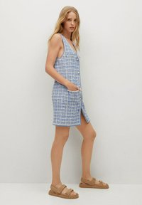 Mango - Jumper dress - bleu - 4