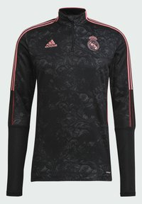 adidas Performance - REAL MADRID AOP TR TOP - Landslagströjor - black - 7