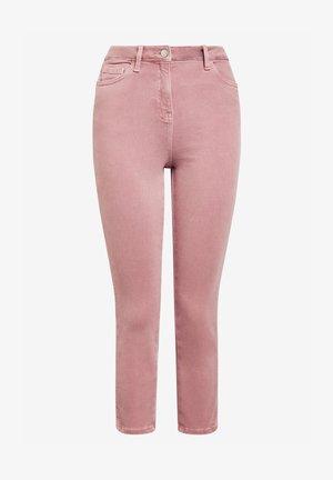 Slimfit džínsy - light pink