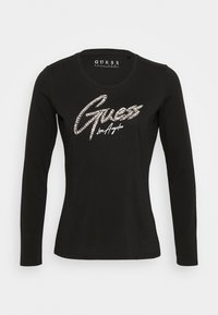 Guess - CAMILLA  - Long sleeved top - jet black - 3
