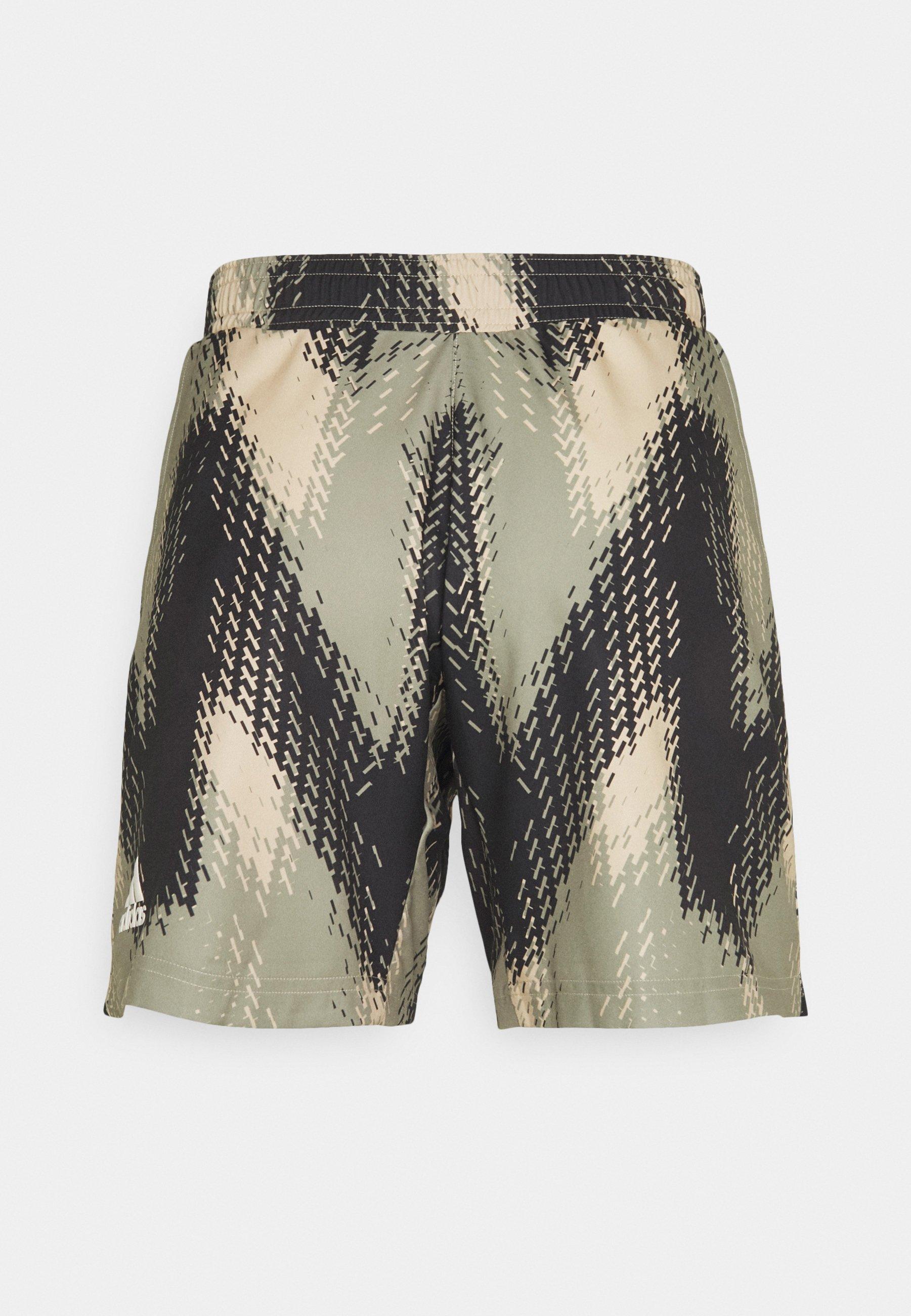 Men PRINTED SHORT - Sports shorts