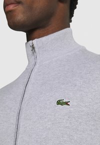 Lacoste - Cardigan - silver chine - 6