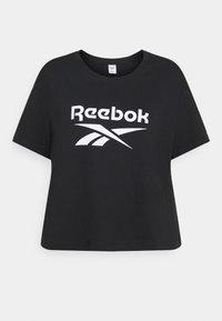 Reebok Classic - BIG LOGO TEE - T-shirt imprimé - black - 4