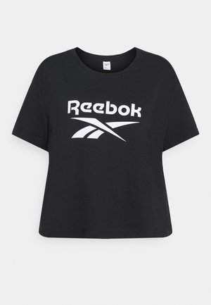 BIG LOGO TEE - T-shirt con stampa - black