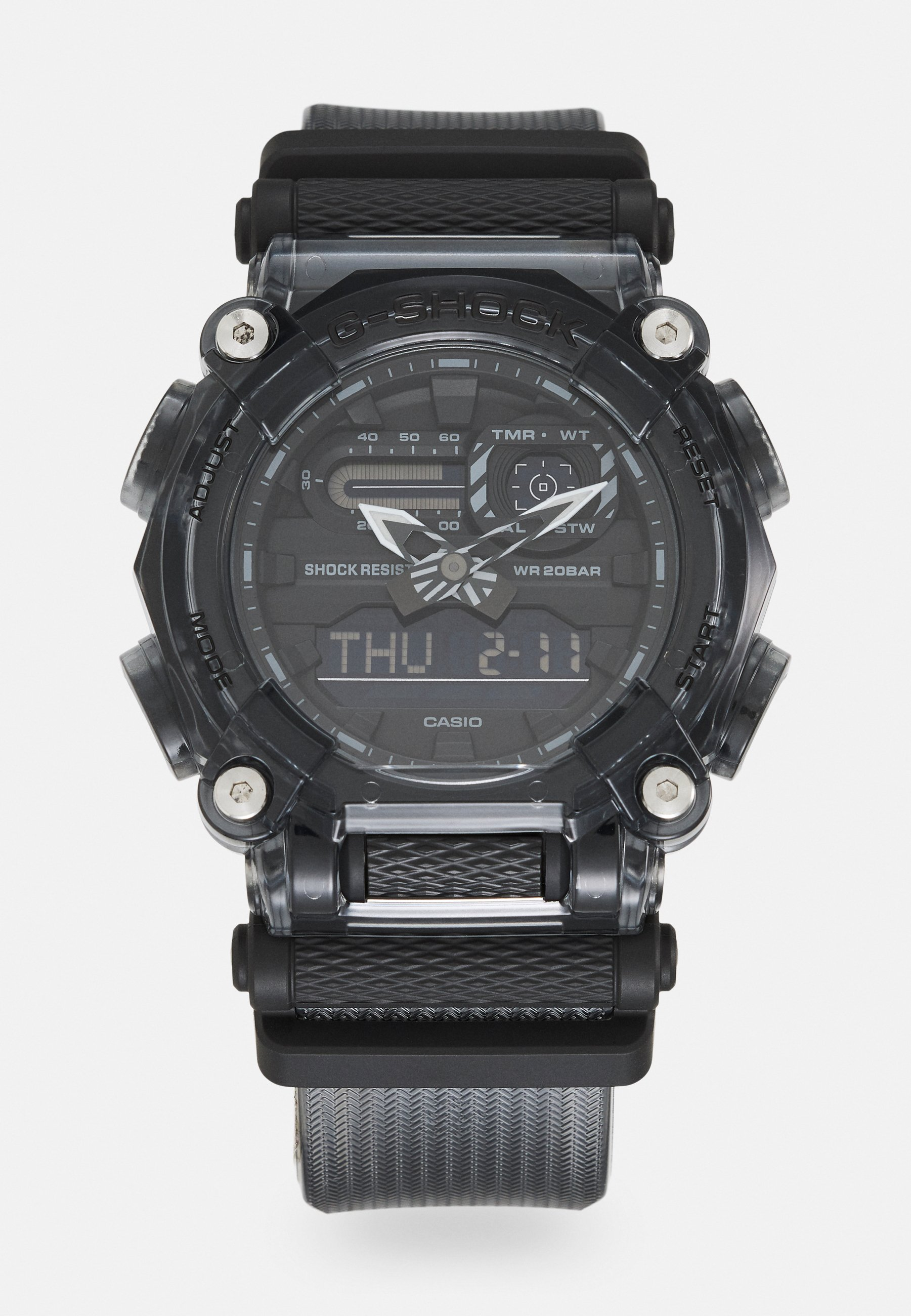 Homme BLACK SKELETON GA-900SKE UNISEX - Montre à affichage digital