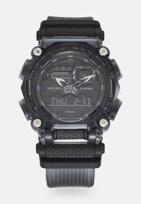 G-SHOCK - BLACK SKELETON GA-900SKE UNISEX - Digital watch - transparent black - 0