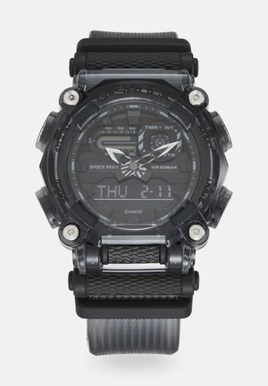 BLACK SKELETON GA-900SKE UNISEX - Digitaal horloge - transparent black