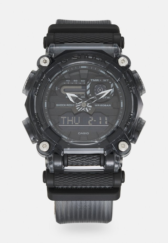 BLACK SKELETON GA-900SKE UNISEX - Montre à affichage digital - transparent black