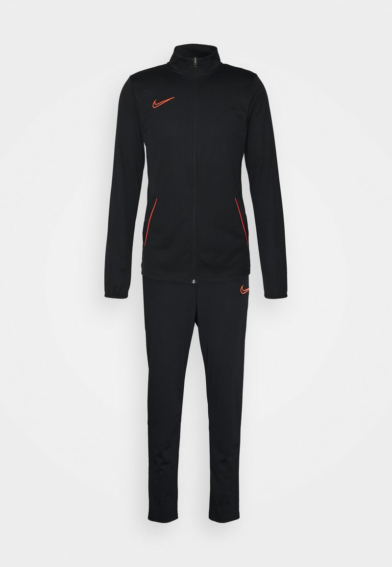 Nike Performance - ACADEMY 21 SUIT - Chándal - black/bright crimson