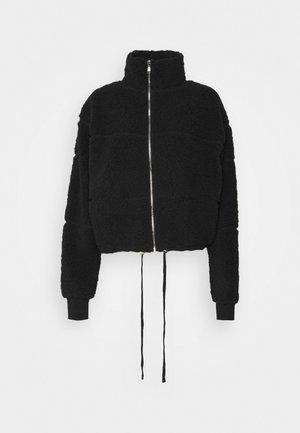 TATUM ZIP THRU - Zimní bunda - black