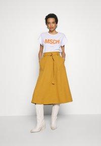 Gestuz - LIYA SKIRT - A-line skirt - bone brown - 1