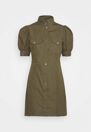 DRESS - Day dress - military kaki