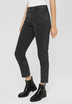 MEDIUM RISE - Slim fit jeans - grey denim