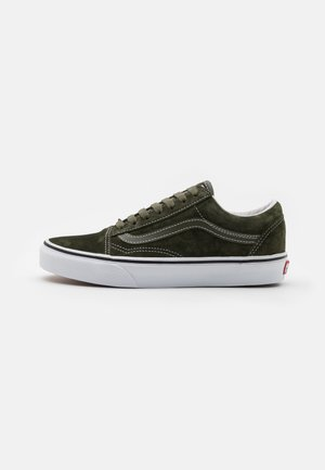 OLD SKOOL UNISEX - Sneakers basse - olive/true white