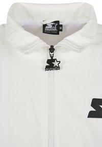 Starter - Summer jacket - white/black/golden - 8